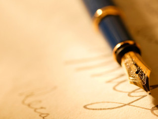 My six top tips for writing