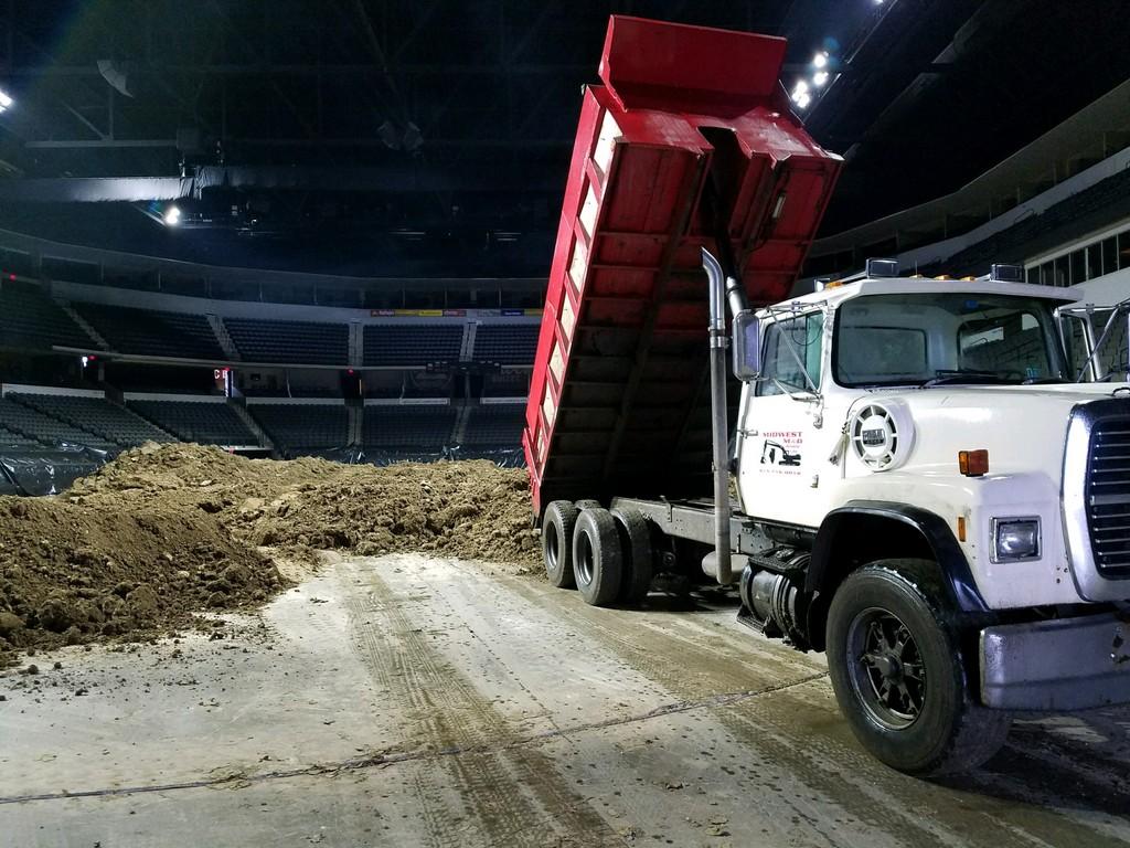 Dump Truck Sears Centre