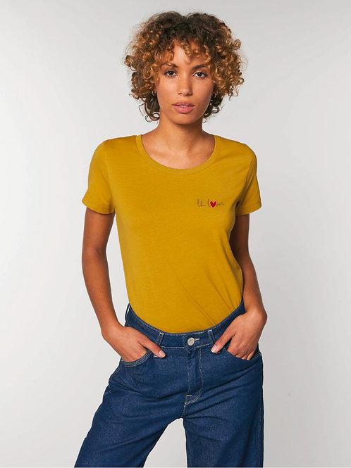 LH LOVER - Le t-shirt ochre