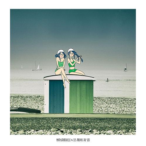 Les Baigneuses - Sur les toits