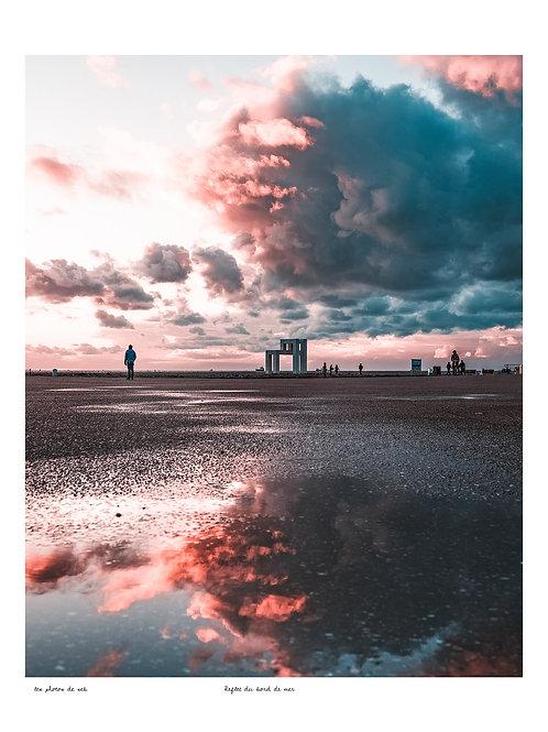 Reflet du bord de mer
