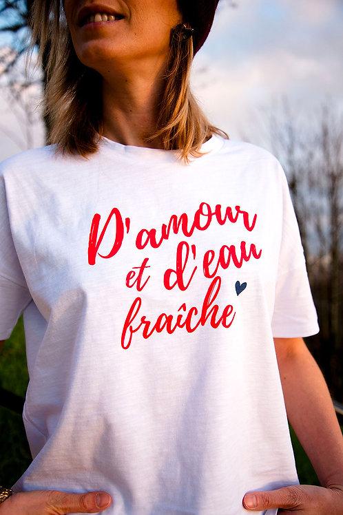 T-shirt D'amour !