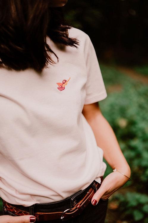Wonder, Tshirt Femme Rose