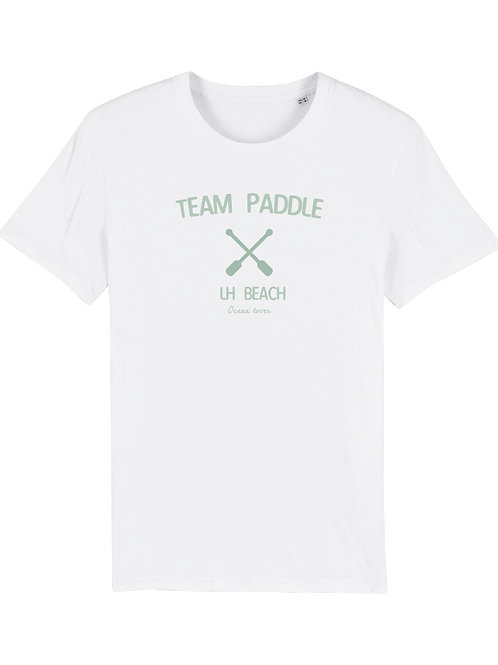 T-shirt TEAM PADDLE VERT D'EAU