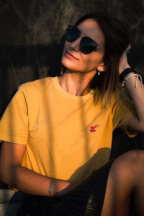Wonder, Tshirt Femme Ocre