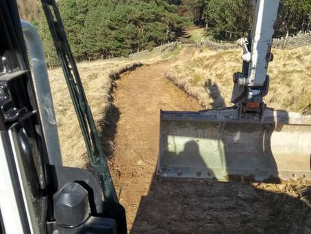 Moorland Track Maintenance