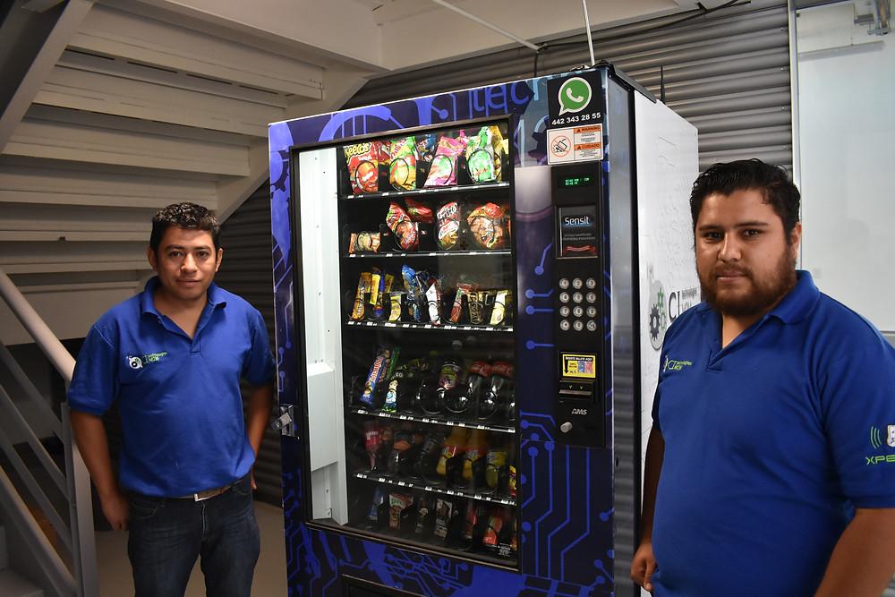 Negocio de las máquinas expendedoras en México