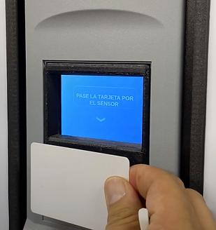 Tarjetas RFID Máquinas Vending