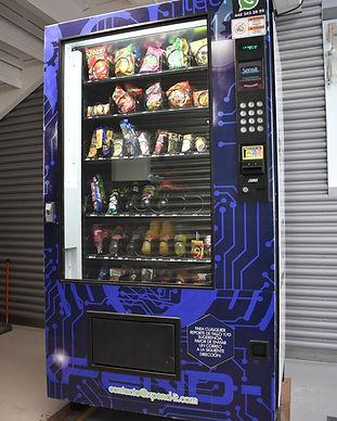 Máquinas Dispensadoras de refrescos y dulces