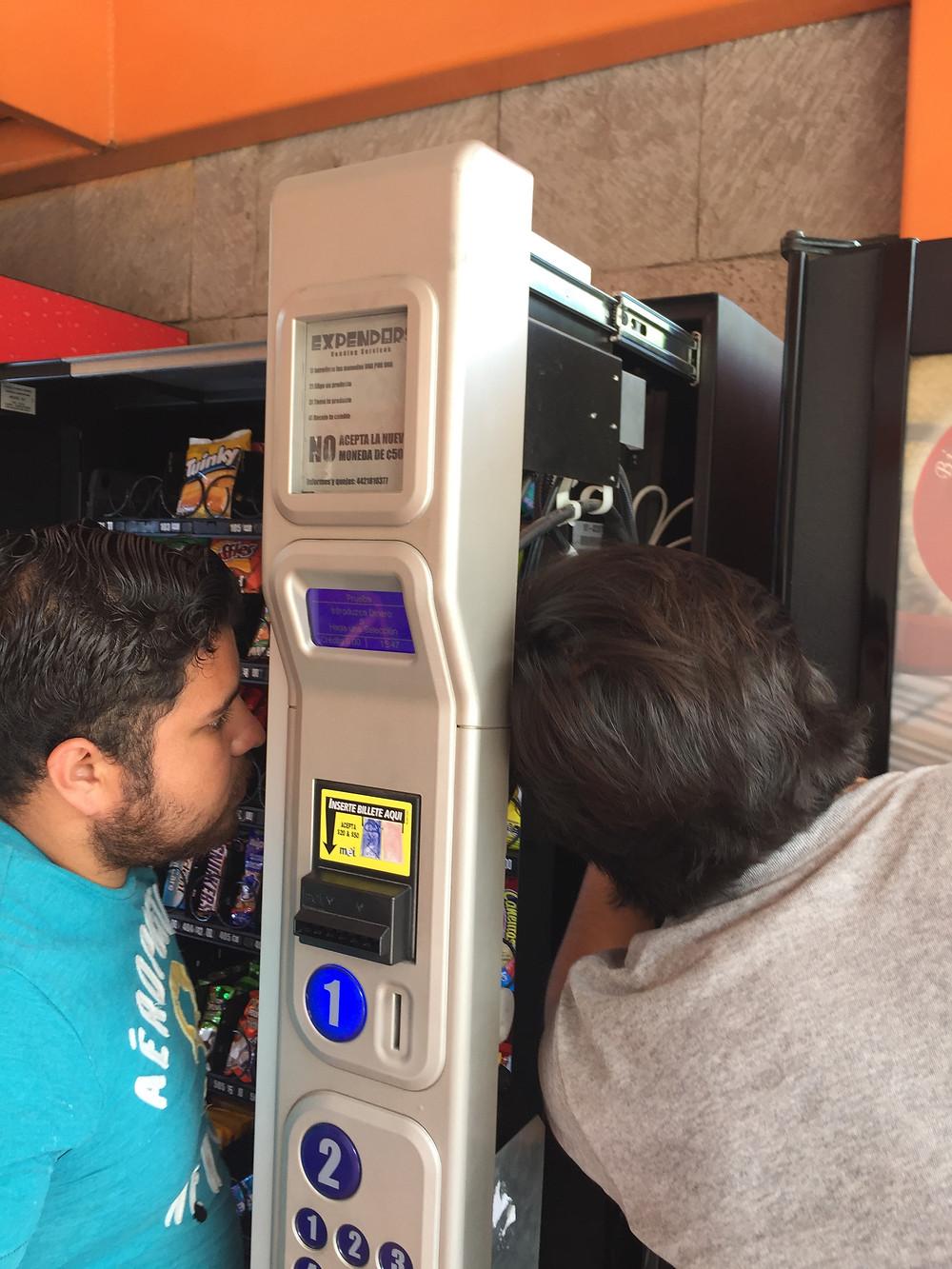 Inversión Inicial Máquinas Vending