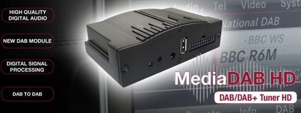 Super tilbud på MediaDAB - helintegrert og skjult. Nå kun kr. 2.495,- !