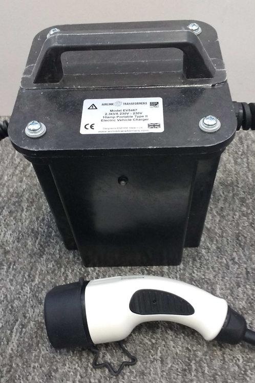 Lader 10A / 230V / 1-fase portabel ladeboks ZOE - IT-nett