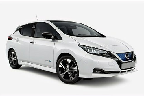 Nissan Leaf ukes leie