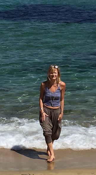 Louise Luiggi in Corsica