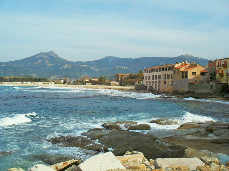 Algajola village Corsica