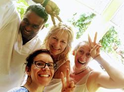 Sri Lanka retreat Yoga fun