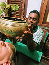 Ayurvedic treatment Sri Lanka with Ranjan de Alwis - Shirodhara