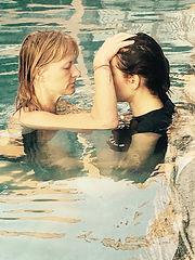 Watsu water bodywork therapy with Louise Luiggiin Sri Lanka