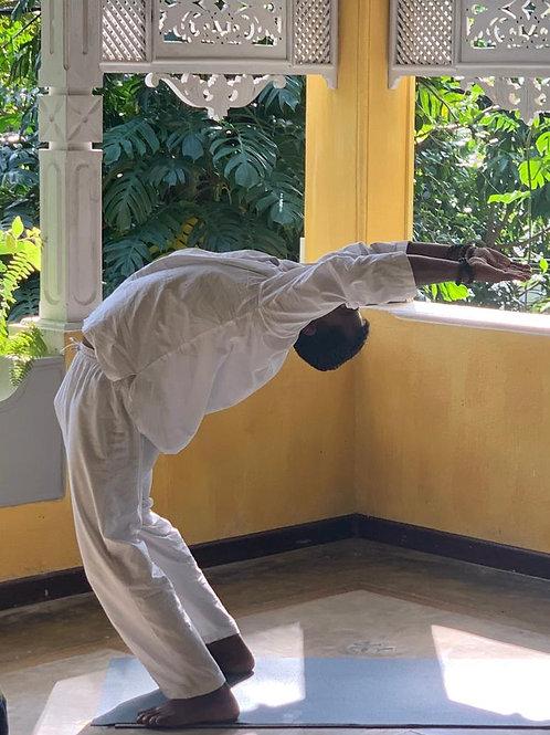 Hatha Yoga group class