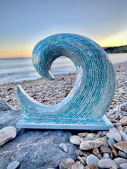 Ocean Wave Sculpture