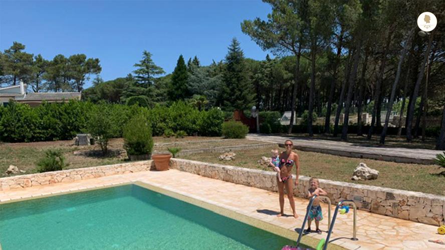 Swimmin Pool, Trullo Pietro
