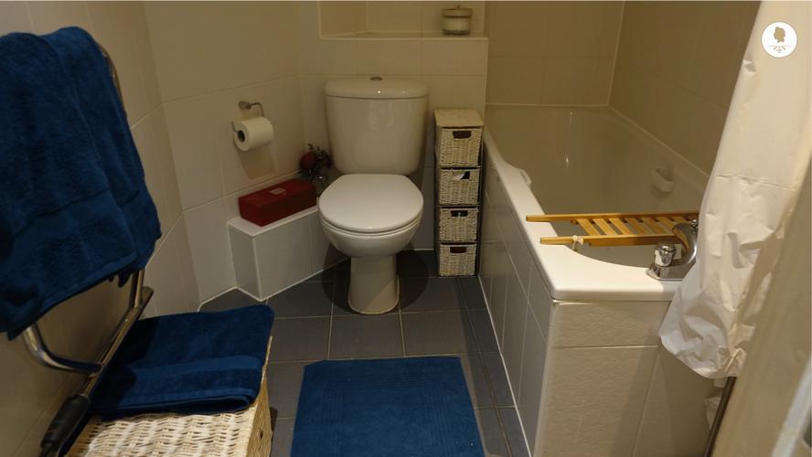 Second Bathroom, Hansler Court House