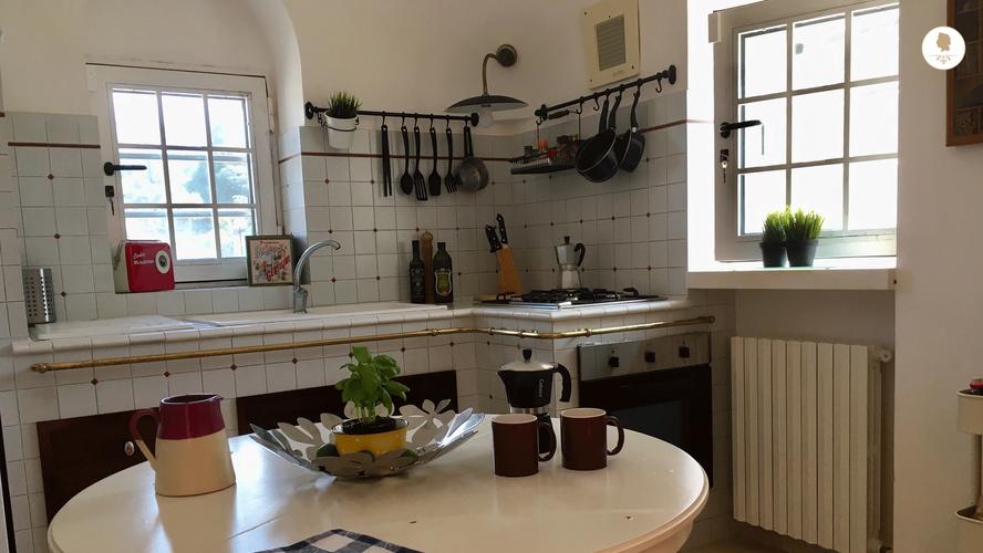 Kitchen, Trullo Pietro