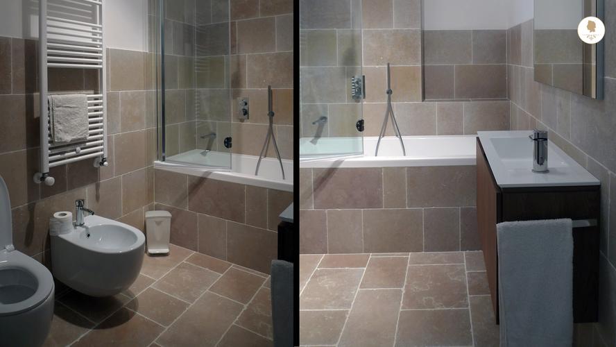 First Bathroom, Villa San Domenico