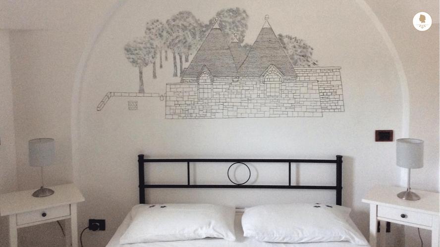 First Bedroom, Trullo Pietro