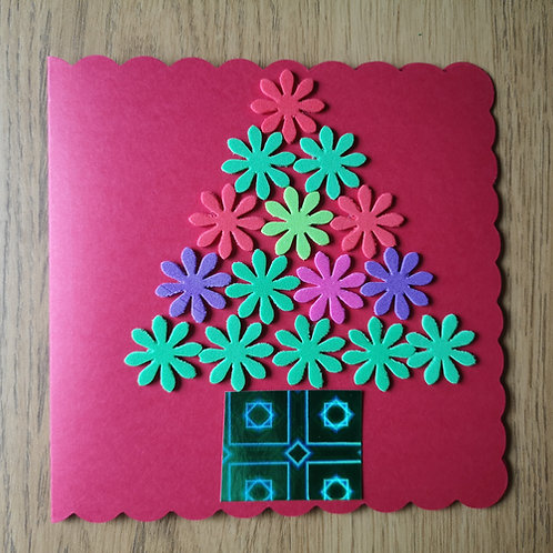 Colourful card