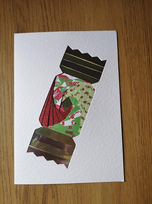 cracker christmas card