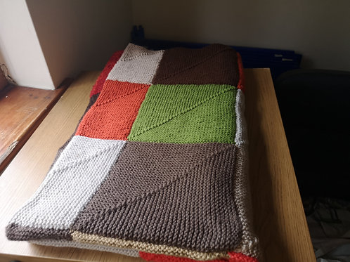 The squared blanket large