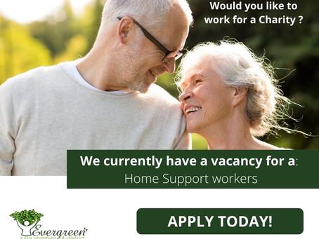 Home Support Worker Vacancies