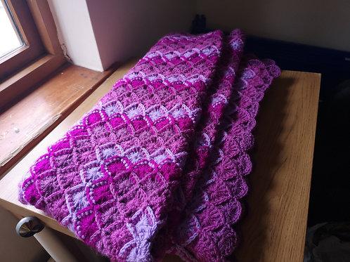 Big purple blanket