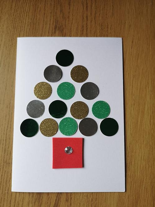 Circle tree card
