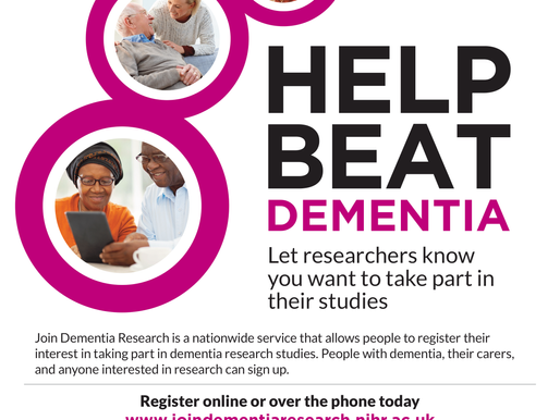 Join Dementia Research - Challenge