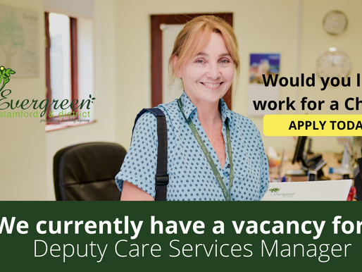 Deputy Care Services Manager Vacancy