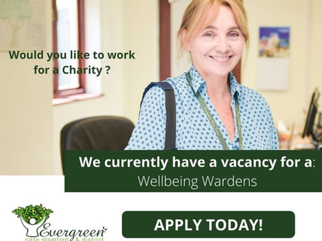 Wellbeing Wardens Vacancies