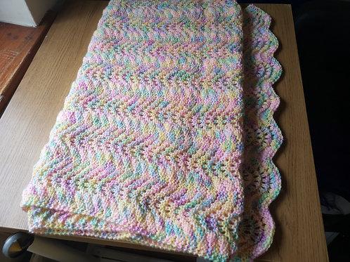 Colourful blanket large