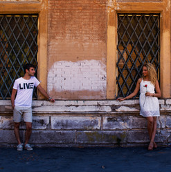 Romance in Roma, Italy