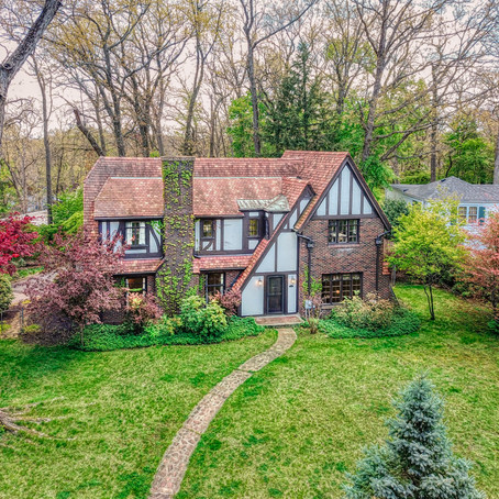 Charming Essex Heights Storybook Tudor with Original Features On Market!