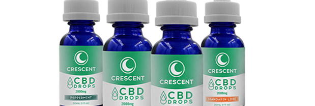 Crescent CBD Drops 2000mg