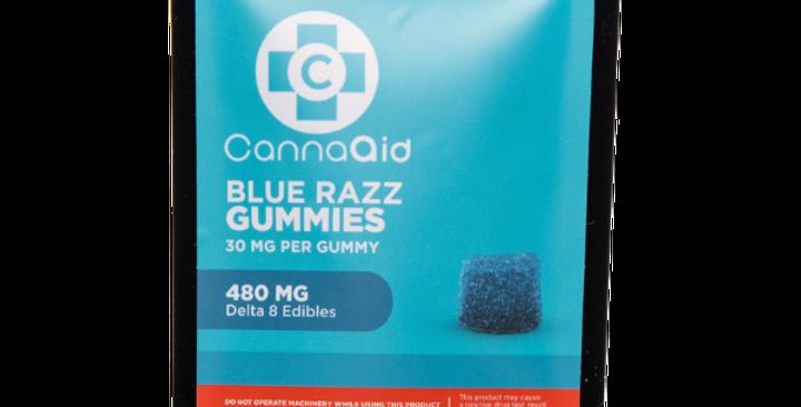 Delta-8 Gummies Blue Razz