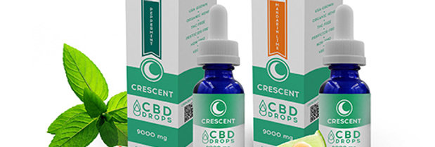 Crescent CBD Drops 500mg