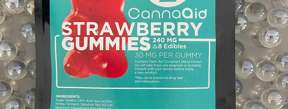 Delta-8 Gummies Strawberry