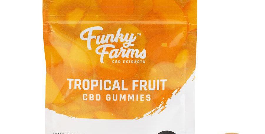 Funky Farms Gummies Tropical Fruit