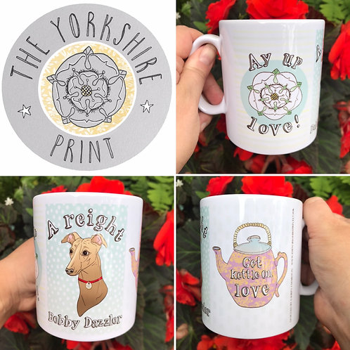 Yorkshire Sayings Mug