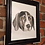 Thumbnail: Framed Custom watercolour pet portrait