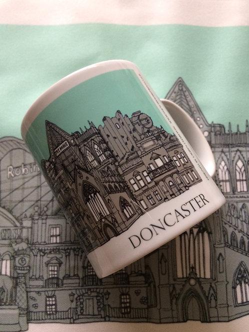 Doncaster Skyline Mug