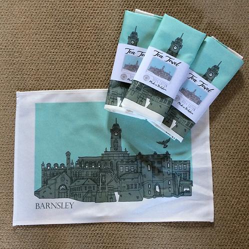 Tea Towel Barnsley Skyline